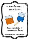 "Liquid Capacity - ""War"" Card Game - Customary Units"