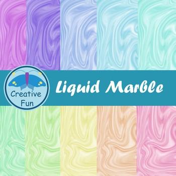 Liquid Marble Digital Paper
