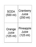 Liquid Measurement- Capacity