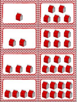 "Liquid Measurement: Cups, Pints, Quarts, Gallons ""Slap-It"" card game center"