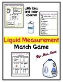 Liquid Measurement Match Game