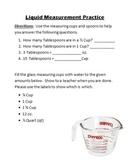Liquid Measurement Practice (Center)