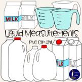 Liquid Measurements Clip Art