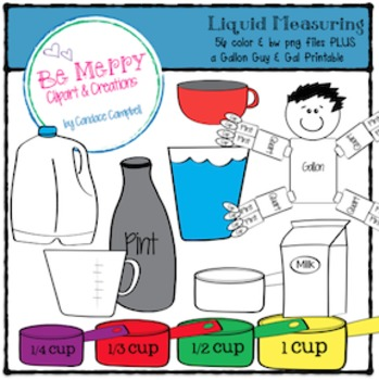Liquid Measuring Clipart