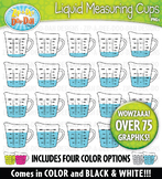 Liquid Measuring Cup Clipart {Zip-A-Dee-Doo-Dah Designs}
