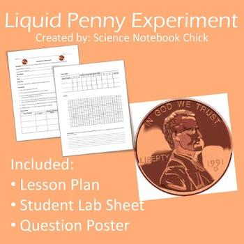 Liquid Penny Experiment