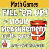 Liquid Volume & Capacity Measurement Conversion Game - Freebie! - Fill 'er Up!