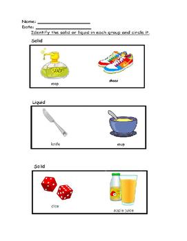 Liquid or Solid - Science
