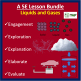 Liquids and Gases - 5E Lesson Bundle