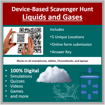 Liquids and Gases – A Digital Scavenger Hunt Activity