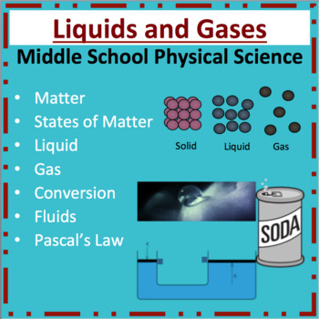 Liquids and Gases - A Middle School Physical Science Lesson