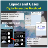 Liquids and Gases - Digital Interactive Notebook