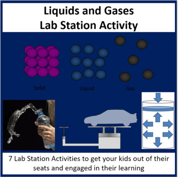 Liquids and Gases - Lab Station Activity