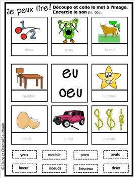 Lire à petits pas Niveau 2  Module 10 sons eu, oeu, eur,oeur,ien ienne