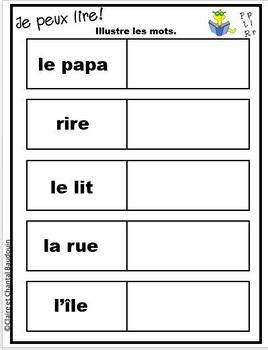 Lire à petits pas : Sons L P R