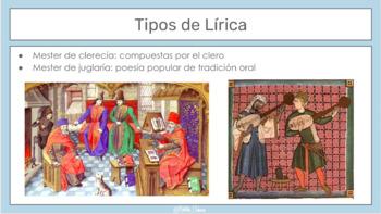 Lírica en la Edad Media