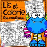 Lis et Colorie • les couleurs