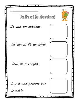 Lis et Dessine!