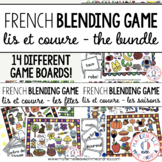 FRENCH Blending Practice / Guided Reading Game - THE BUNDLE