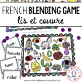 FRENCH Blending Practice / Guided Reading Game for maternelle