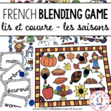 FRENCH Blending Practice / Guided Reading Game - Les saisons