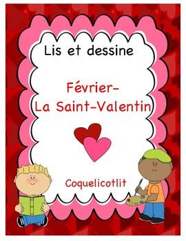 Lis et dessine - Février- La Saint-Valentin