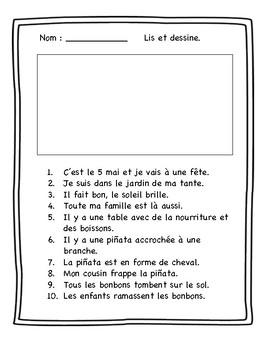Lis et dessine : Mai - La fête des mères