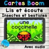Lis et écoute le nom des insectes et des bestioles