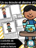 Lis ou écoute et dessine #3 - Activité d'expression orale