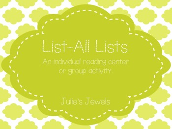 List-All Lists