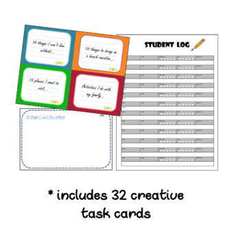 List Builder - Early Finishers Task Cards