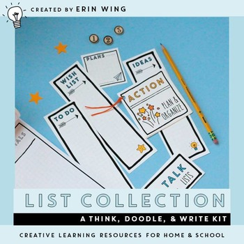 List Collection: A Think, Doodle and Write Kit