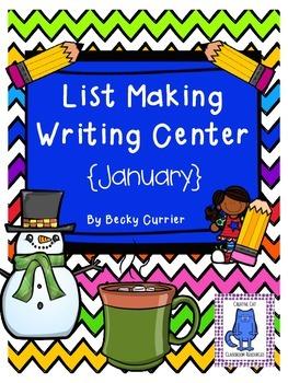 January List Making Writing Center