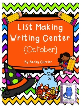 October List Making Writing Center