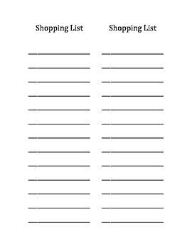 List Paper