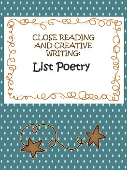 List Poetry