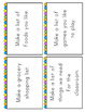 List Writing Pack