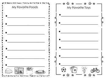 List Writing Paper