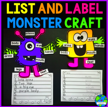 List and Label Monster Writing