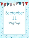 List of 15 Patriotic/September 11 (9/11) Writing Prompts