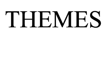 List of 26 Common Themes in Literature