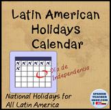 List of Latin American Holidays