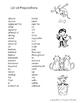 List of Prepositons