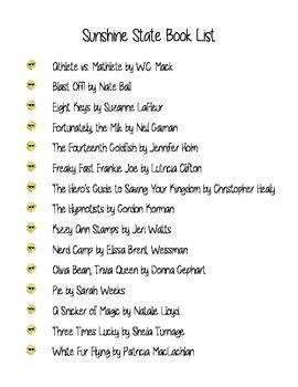 List of Sunshine State Books