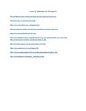 List of Websites (Ancient Civilization)