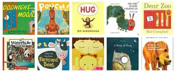 List of must have books for Toddlers and up