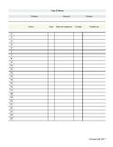 Liste d'élèves - Préscolaire / Primaire / Secondaire