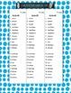 Liste de mots orthographique triée du MELS-Dictées de 5e année-Pour la rentrée