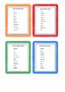 Liste des mots invariables français