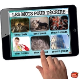 DICTIONNAIRE DE MOTS FRÉQUENTS / French guided writing Sight words